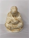 SMALL SITTING MONK WITH BOWL